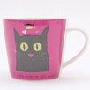 ECP Design Ltd Cat with Fish Mug by Jane Ormes (Set of 6)
