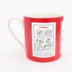 ECP Design Ltd Matt Squiffy Middle Mug (Set of 6)