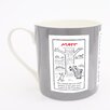 ECP Design Ltd Matt Daily Life Mug (Set of 6)