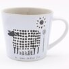 ECP Design Ltd Scandinavian Sheep Mug by Jane Ormes (Set of 6)