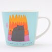 ECP Design Ltd Cat in Jelly Mug by Jane Ormes (Set of 6)