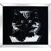 Pharmore Ltd Gerahmtes Poster Rhombus Cat, Grafikdruck