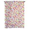 Room Magic Heart Throb Cotton Rod Pocket Curtain Panels (Set of 2)