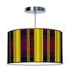 Jef Designs Organic Modern Stripey Vertical Pendant
