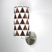 Jef Designs 1 Light Triangle 1 Wall Sconce