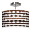 Jef Designs Weave 3 Drum Pendant