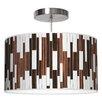 Jef Designs Tile 1 Drum Pendant