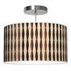 Jef Designs Weave 2 Drum Pendant