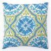 Sis Boom by Jennifer Paganelli Back Bay Hook Linen Throw Pillow