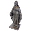 Virgin Mary Statue - Color: Bronze - EMSCO Group Garden Statues and Outdoor Accents