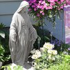 Virgin Mary Statue - Color: Granite - EMSCO Group Garden Statues and Outdoor Accents