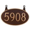 Montague Metal Products Inc. Two Sided Oval Hanging Sign