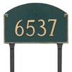 Montague Metal Products Inc. Georgetown Estate One Line Address Sign