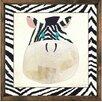 Forest Creations Magnet Art Print Zebra Framed Art