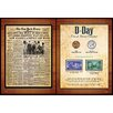 American Coin Treasures New York Times D Day Coin and Stamp Memorabilia