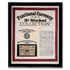 American Coin Treasures 19th Century Fractional Currency and 3-Cent Collection Framed Memorabilia