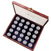 American Coin Treasures Complete Walking Liberty Half Dollar Collection Display Box