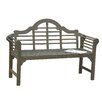 Gablemere Lutyens 2 Seater Wooden Bench