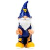Gnome Figurine Statue - NCAA Team: West Virginia University - Forever Collectibles Garden Statues and Outdoor Accents