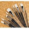 Princeton Artist Brush Short Handle Acrylic Round Brush (Set of 2)
