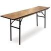 McCourt Manufacturing ProRent Rectangular Folding Table (Set of 5)