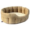 P & L Superior Pet Beds Machine Washable Premium Oval Basket Weave Softee Dog Bed