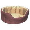 P & L Superior Pet Beds Country Dog Heavy Duty Oval Softee Bed in Sand/Brown