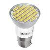 MiniSun 3W Gray/Smoke BA22d/Mogul bayonet LED Light Bulb