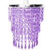 MiniSun 19cm Crystal Novelty Pendant Shade