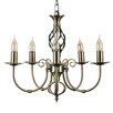 MiniSun Memphis 5 Light  Candle Chandelier