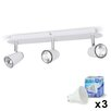 MiniSun Hardy 3 Light LED Ceiling Bar Spotlight