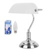 MiniSun Bankers Touch 37cm Table Lamp
