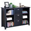 """kathy ireland Home by Martin Furniture Tribeca 40.75"""" Cube Unit Bookcase"""