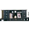 "kathy ireland Home by Martin Furniture Tribeca Loft 15"" H x 48' W Short Reception Hutch"