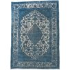 ECARPETGALLERY Hand-Knotted Turquoise Indoor Area Rug