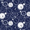 Loboloup World Clocks 15' x 27'' Wallpaper