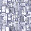"""Loboloup Cityscape 15' x 27"""" Scenic Wallpaper"""