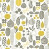 "Loboloup Meadow 15' x 27"" Floral and Botanical Wallpaper"