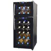 NewAir 21 Bottle Dual Zone Freestanding Wine Refrigerator