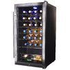 NewAir 27 Bottle Single Zone Freestanding Wine Refrigerator