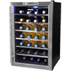 NewAir 28 Bottle Single Zone Freestanding Wine Refrigerator