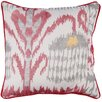 Karma Living Ikat Heart Cotton Throw Pillow (Set of 2)