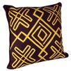 Karma Living African Embroidery Throw Pillow (Set of 2)