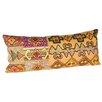 Karma Living Embroidery Vintage Cloth Cotton Lumbar Pillow (Set of 2)