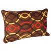 Karma Living African Embroidery Cotton Lumbar Pillow (Set of 2)