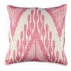 Karma Living Ikat Heartbeat Design Cotton Throw Pillow (Set of 2)