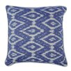 Karma Living Ikat Diamond Design Cotton Throw Pillow (Set of 2)