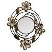 Novus Imports Novus Imports Floral Swoop Mirror