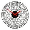Novus Imports Novus Imports 38cm Wire Vortex Wall Clock