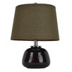 """Decor Therapy 15"""" H Table Lamp with Empire Shade"""